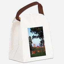 Dairy Farm Canvas Lunch Bag