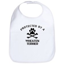 Protected By A Wheaten Terrier Bib