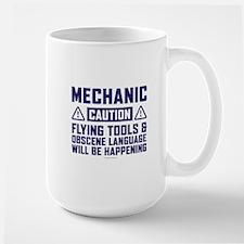 Caution Mechanic Mugs