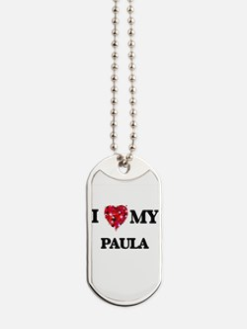 I love my Paula Dog Tags