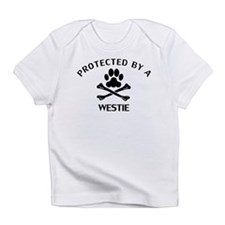 Protected By A Westie Infant T-Shirt