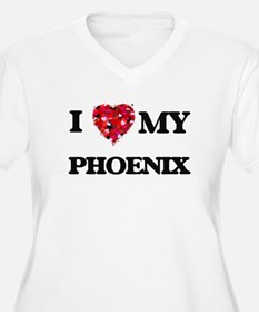 I love my Phoenix Plus Size T-Shirt