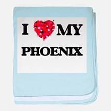 I love my Phoenix baby blanket