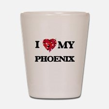 I love my Phoenix Shot Glass