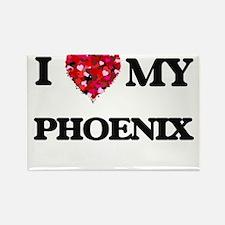 I love my Phoenix Magnets