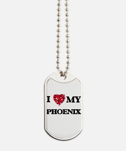 I love my Phoenix Dog Tags