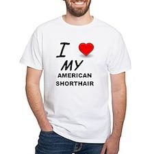 american shorthair love T-Shirt