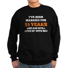 Ive Been Married For 55 Years Sweatshirt