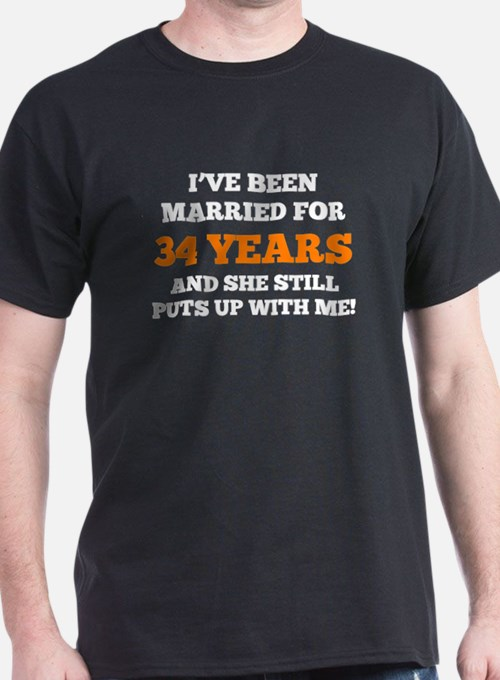 Ive Been Married For 34 Years T-Shirt