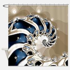 Osteodiplopada Shower Curtain