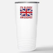 I'm Bloody Awesome! Union Jack Flag Travel Mug