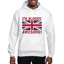 I'm Bloody Awesome! Union Jack Flag Hoodie