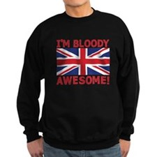 I'm Bloody Awesome! Union Jack Flag Jumper Sweater