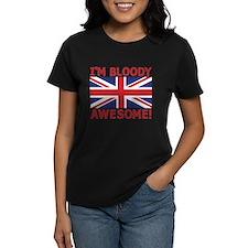 I'm Bloody Awesome! Union Jack Flag T-Shirt