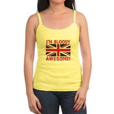 I'm Bloody Awesome! Union Jack Flag Tank Top