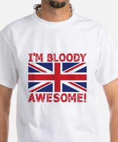 I'm Bloody Awesome! Union Jack Flag T-Shirt