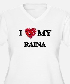 I love my Raina Plus Size T-Shirt