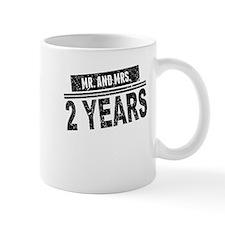 Mr. And Mrs. 2 Years Mugs
