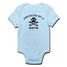 Protected By A Scottie Body Suit
