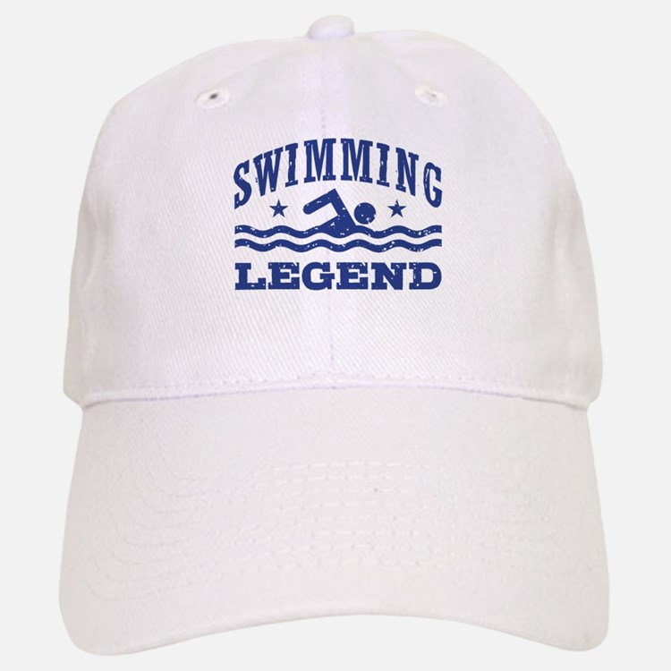 Swimming Legend Baseball Baseball Cap