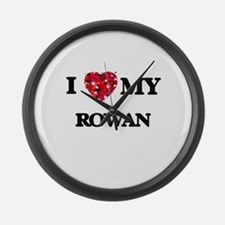 I love my Rowan Large Wall Clock