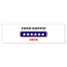 Koppie 2016 Bumper Bumper Sticker