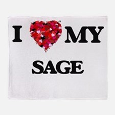 I love my Sage Throw Blanket