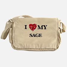 I love my Sage Messenger Bag