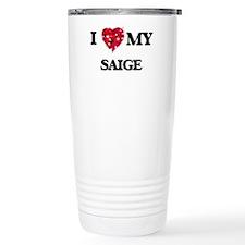I love my Saige Travel Mug