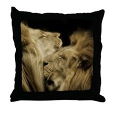 'Brothers' Throw Pillow