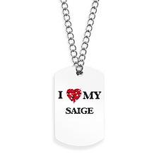 I love my Saige Dog Tags