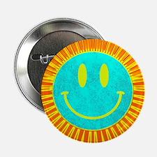 """happy face lion 2.25"""" Button"""