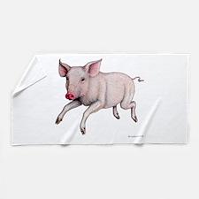Flying Pig ~ Beach Towel