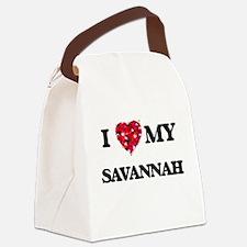 I love my Savannah Canvas Lunch Bag