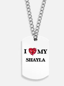 I love my Shayla Dog Tags