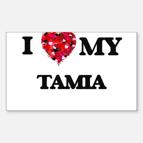 I love my Tamia Decal