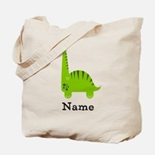Green Dinosaur (p) Tote Bag