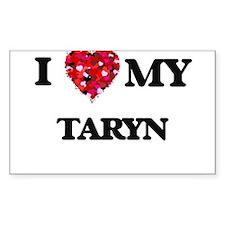 I love my Taryn Decal