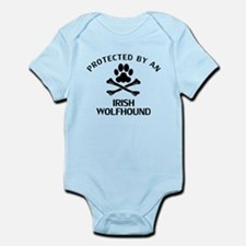 Protected By An Irish Wolfhound Body Suit