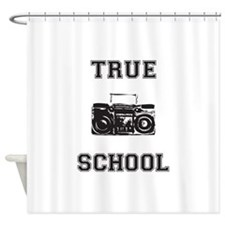 True School Shower Curtain