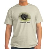 Tazmanian devil Mens Light T-shirts