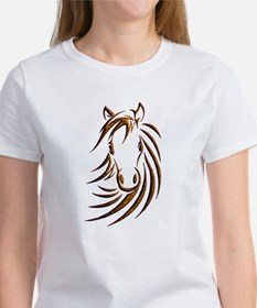 Brown Horse Head T-Shirt