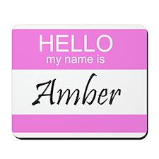 Amber Mousepad