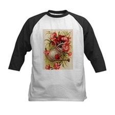 Watering Can with Flowers Baseball Jersey
