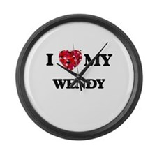 I love my Wendy Large Wall Clock