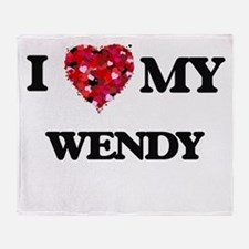 I love my Wendy Throw Blanket