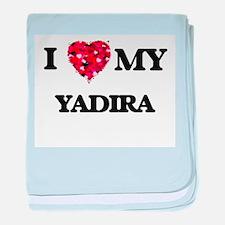 I love my Yadira baby blanket