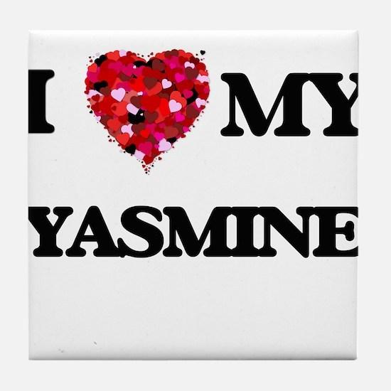 I love my Yasmine Tile Coaster