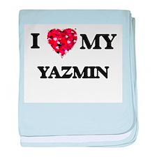 I love my Yazmin baby blanket