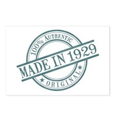 Made in 1929 Postcards (Package of 8)